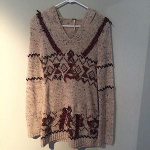 Free People Tribal Pullover